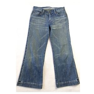 7 FOR ALL MANKIND Crop Dojo Jeans 27